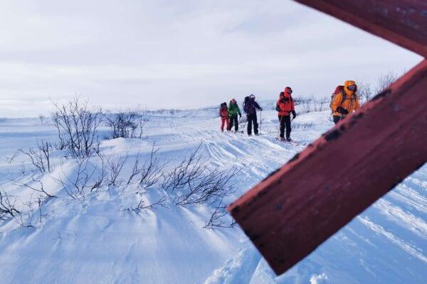 Finnmarksvidda på ski