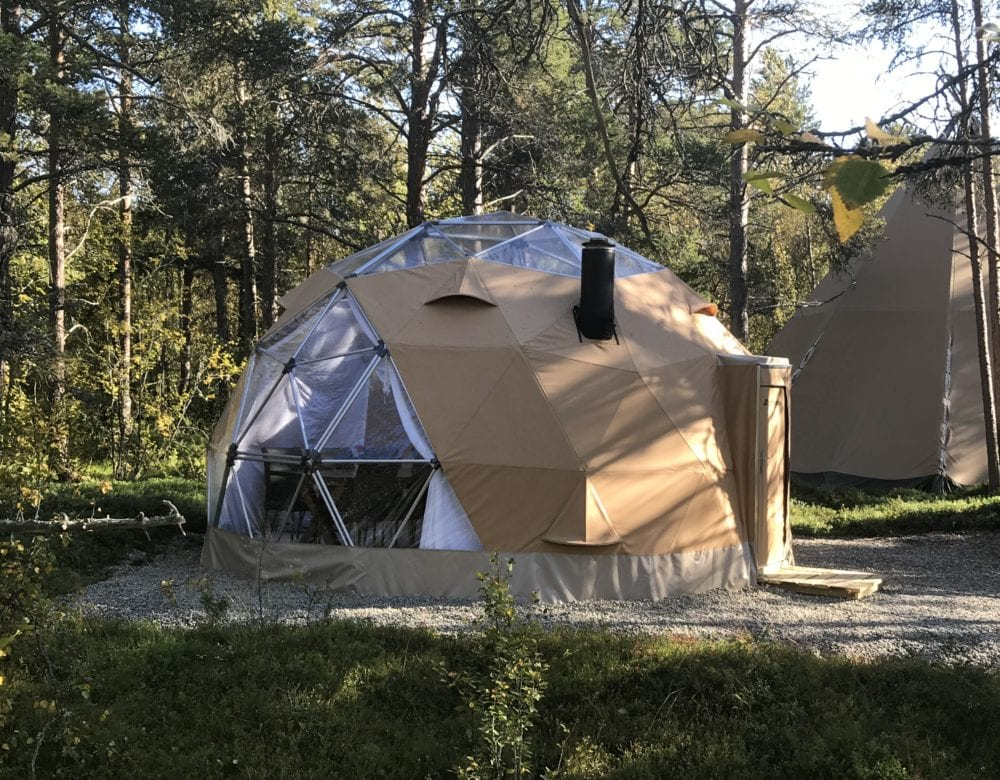 Arctic Dome utvendig