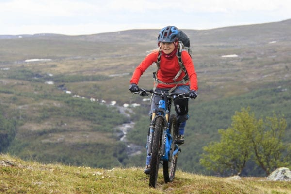 Rental of mountain bikes